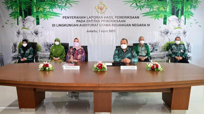 BPK Laporkan Hasil Pemeriksaan ke Kementerian Pertanian, Begini Hasilnya