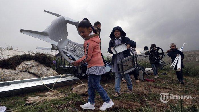 Dua Roket Meluncur dari Gaza ke Israel di Tengah Ketegangan Pencaplokan Tepi Barat Palestina