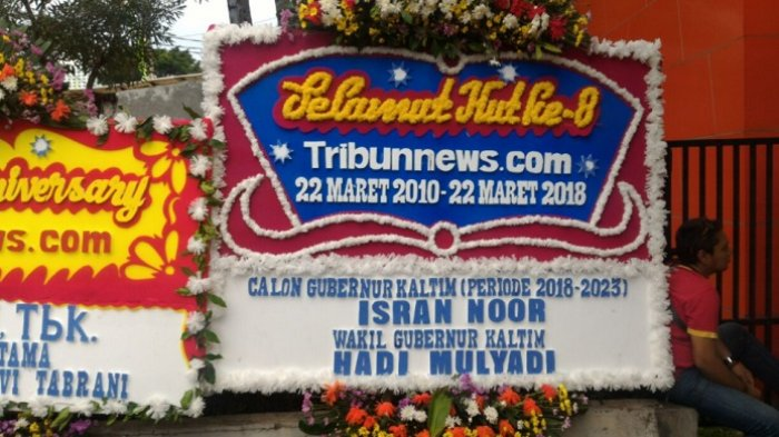 Calon Gubernur Kaltim Isran Noor Ucapkan Selamat HUT ke-8 Tribunnews.com