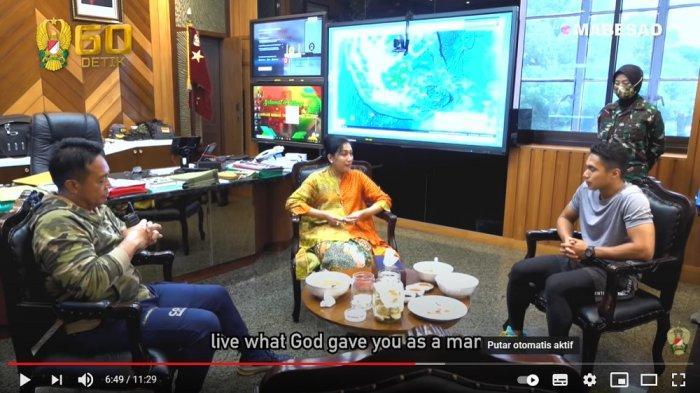 Istri KSAD Andika Perkasa, Hetty Perkasa memberi nama baru untuk Aprilia Manganang