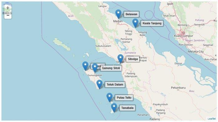 Penjelasan BMKG soal Isu Potensi Tsunami di Tapanuli Tengah, Masyarakat Jangan Terpengaruh Isu