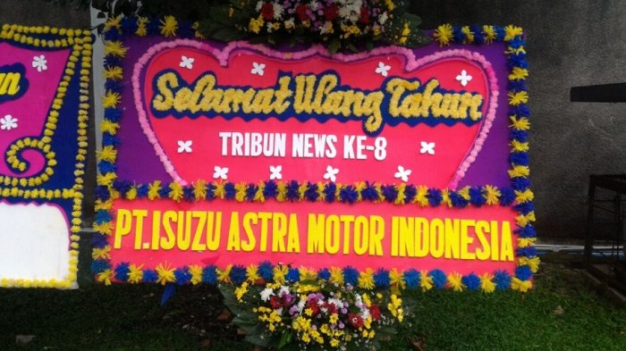PT Isuzu Astra Motor Indonesia Ucapkan Selamat HUT ke-8 Tribunnews.com