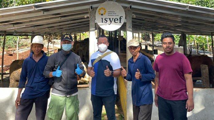 ISYEF Farm Beri Manfaat Rp 150 Juta ke Peternak dan Masyarakat Desa Petir Gunung Kidul