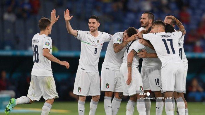 Live Streaming Italia vs Swiss di Mola TV dan RCTI, Euro 2020, Dini Hari Nanti