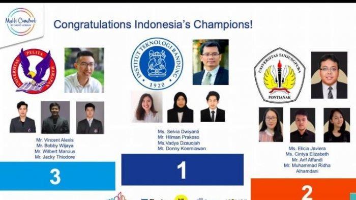 Mahasiswa ITB Wakili Indonesia Ikuti Ajang  MCSC di Perancis
