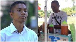 Kisah Anak Pedagang Salome di Balikpapan, Libur Sekolah Bantu Jualan, Kini Lulus Akademi Militer