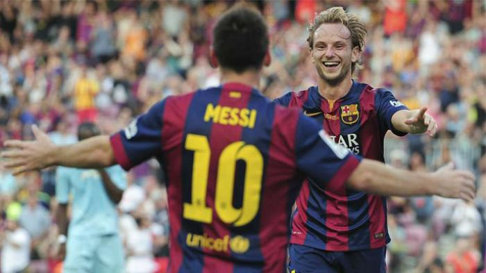 6 Musim Bersama Barcelona, Ivan Rakitic Akui Lionel Messi dan Luis Suarez Bukan Teman Dekatnya