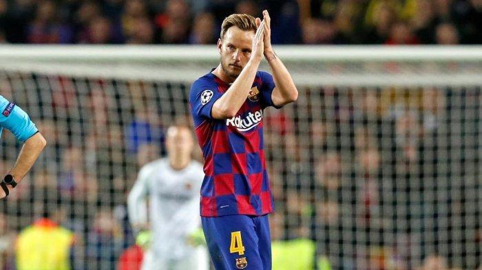 Ivan Rakitic pemain tengah andalan Barcelona