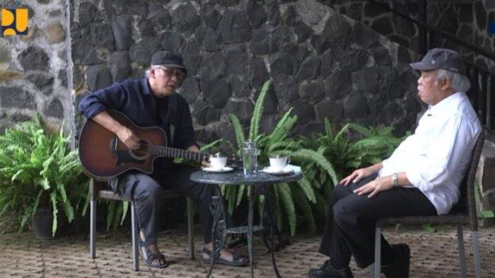 Ketika Menteri PUPR Basuki Hadimuljono Berkunjung ke Rumah Iwan Fals