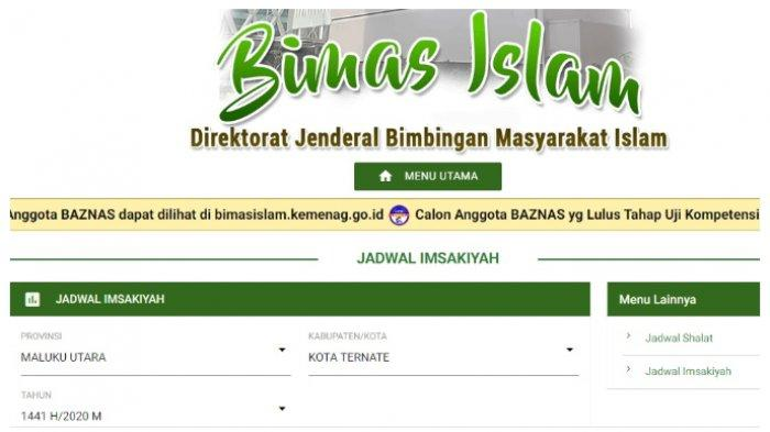 Jadwal Imsak dan Buka Puasa di Ternate, Kamis 30 April 2020 dan Doa-doa Puasa Ramadhan