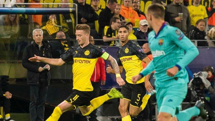 Jadwal Liga Champions 2019 Pekan ke-5, Barcelona vs Dortmund, Inter Milan & Chelsea Main Tandang