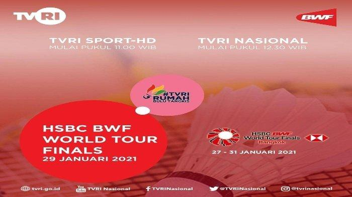 LIVE STREAMING TV Online TVRI Semifinal BWF World Tour Finals 2020, Kiat The Daddies Lawan Choi/Seo