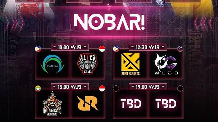 LINK Live Streaming M2 Mobile Legends World Championship 23 Januari, RRQ Hoshi Hadapi Burmese Ghouls