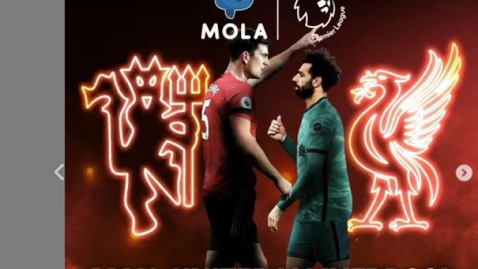 Liga Inggris Malam Ini: Newcastle vs Arsenal, MU vs Liverpool, Spurs vs Sheffield, Live MOLA TV