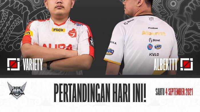 Live Streaming MPL Season 8 Hari Ini, Geek Fam vs BTR, AURA Fire vs RRQ, Evos Legends vs Alter Ego