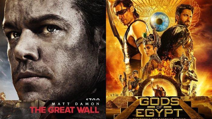 Jadwal TV Sabtu, 23 Mei 2020: Tayang Gods of Egypt di Trans TV & The Great Wall di GTV