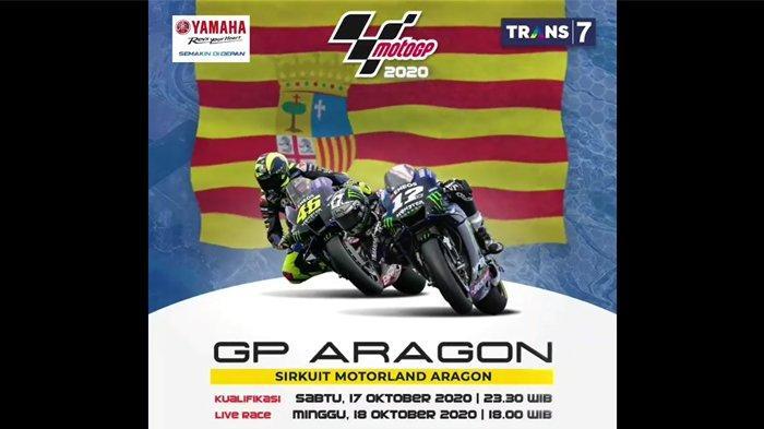 Jadwal TV Minggu, 11 Oktober 2020: Ada MotoGP Aragon 2020 di TransTV, Dari Jendela SMP di SCTV