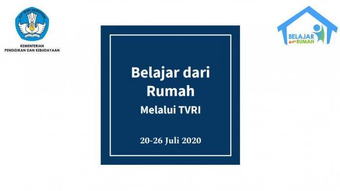 Jadwal Belajar dari Rumah TVRI Kamis, 23 Juli 2020: Permainan Tradisional dan Himpunan