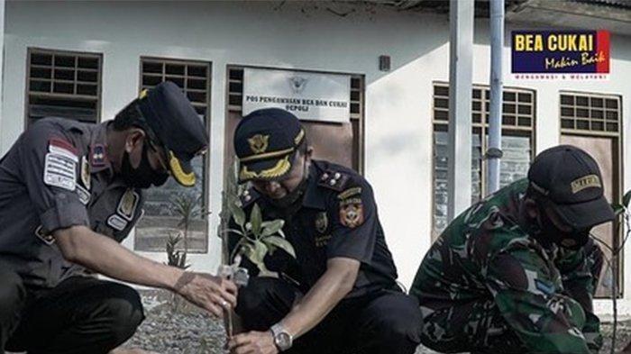Jaga Perbatasan Indonesia-Timor Leste di Oepoli, Bea Cukai dan Imigrasi Kupang Kuatkan Sinergi