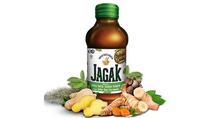 JAGAK merupakan ramuan asli tradisional Indonesia yang bebas gula tapi tetap manis.