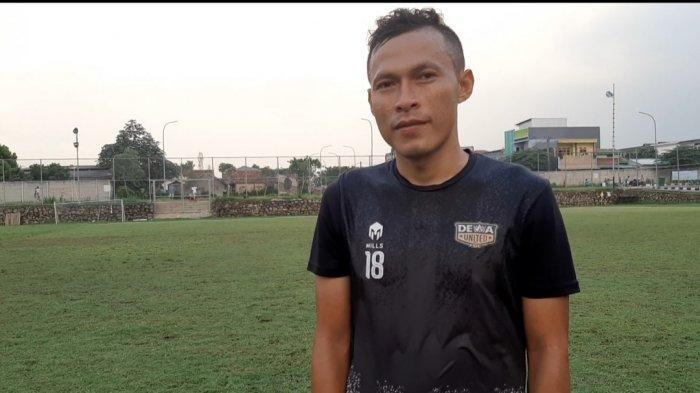 Jajang Sukmara, eks Persib Bandung yang kini bermain untuk Dewa United FC