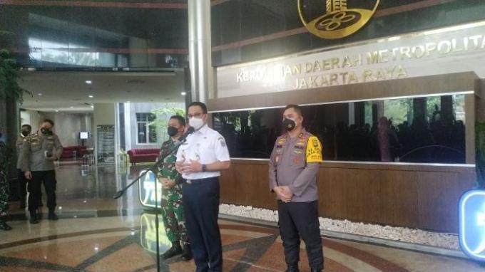 Tekan Angka Penularan Covid-19 di Ibu Kota, Gerakan Jakarta Bermasker Diluncurkan