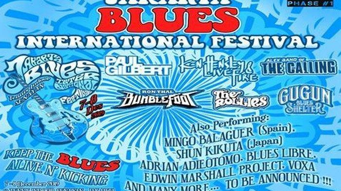 Jakarta Blues International Festival 2019 sambangi Tennis Indoor Senayan.