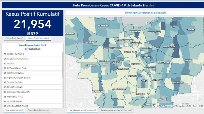 Update Corona Jakarta Hari Ini Jakarta Catat Penambahan Terbanyak Di Indonesia Ada 379 Kasus Baru Tribunnews Com Mobile