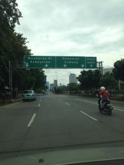 Libur Awal 2015 Jalan Jakarta Lengang Tribunnews Com Mobile