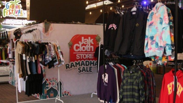 JakCloth Pop Up Store Ramadan & Lebaran dalam program LEBARAN FESTIVE di Gading Festival Food & Fun, Kelapa Gading.