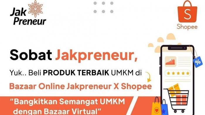 Mudahkan Pemasaran Produk UMKM, Pemprov DKI Gelar Bazaar Online Jakpreneur
