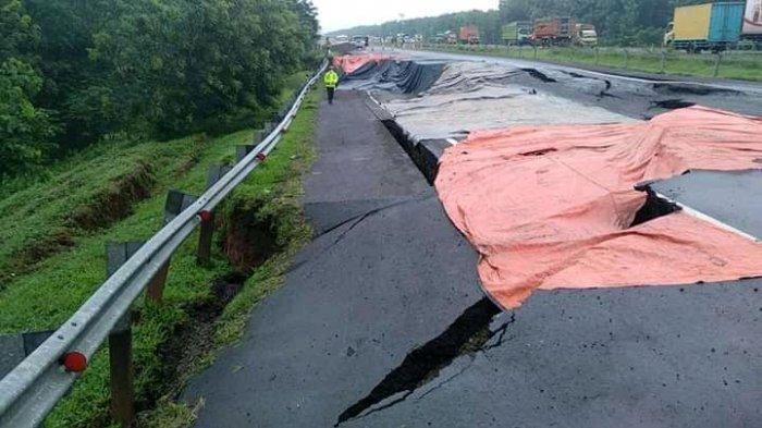 Tol Cipali KM 122 Ambles, Astra Infra Targetkan Perbaikan Rampung Akhir Februari