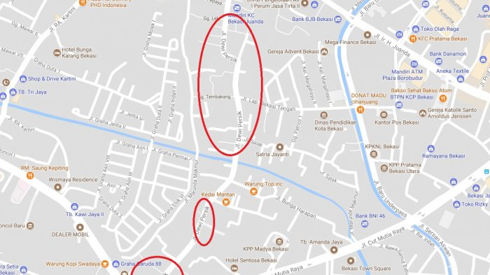 Jalan Dewi Sartika di Bekasi Berganti Jadi Jalan Dewi Perssik, Diskominfo Bekasi Surati Google
