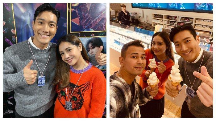 Jalan-jalan ke Gedung SM Entertainment, Raffi Ahmad dan Nagita Slavina Bertemu Siwon Super Junior
