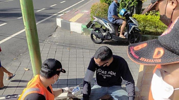 Korban PHK, Pria Asal Sumatera Utara Ini Jalan Kaki dari Lombok Tujuan Jember, Pingsan di Denpasar