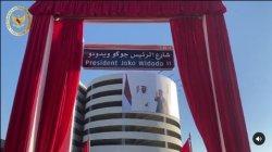 Nama Presiden Joko Widodo diresmikan menjadi sebuah nama jalan di Abu Dhabi, Uni Emirat Arab (UEA), Senin (19/10/2020) pukul 16.45 waktu setempat.