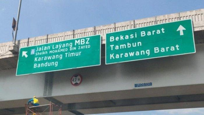 Dibalik Pergantian Nama Jalan Tol Layang Japek Jadi Jalan Layang Sheikh Mohammed bin Zayed (MBZ)