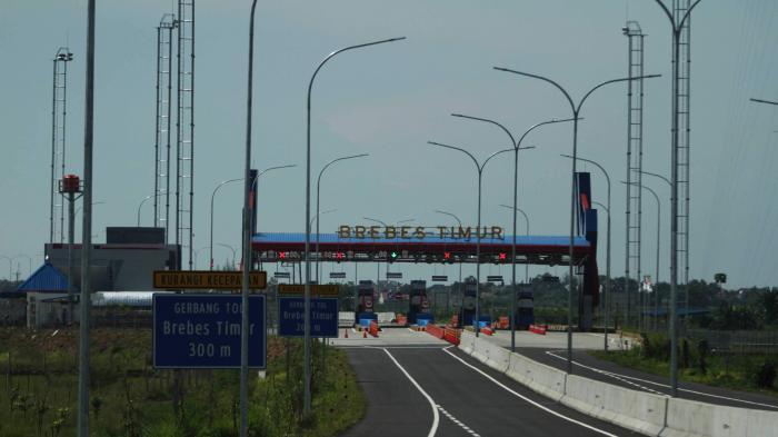 Ruas Jalan Tol Pejagan - Brebes Timur Sudah Rampung Pengerjaannya, Jalannya Mulus