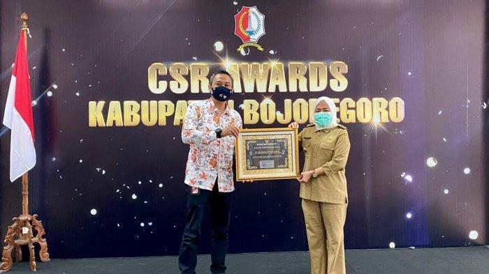 Jalankan CSR, PEPC Raih Penghargaan dari Pemkab Bojonegoro