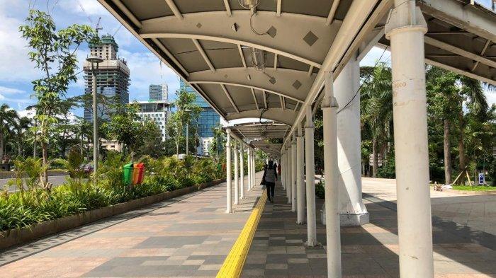 Makin Cantik dan Tertata, Kawasan Pedestrian di Sudirman