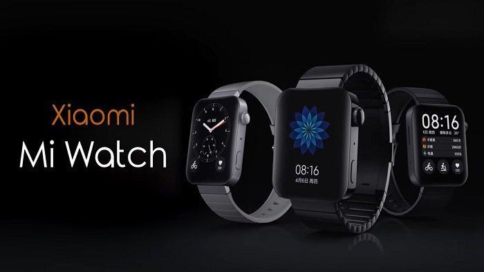 Harga dan Spesifikasi Mi Watch, Jam Tangan Pintar Xiaomi Semejeng Apple Watch, Berkisar Rp 2,5 Juta
