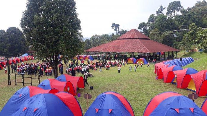 250 Bocah Ngumpul di Acara Jambore Si Bolang di Gunung Geulis