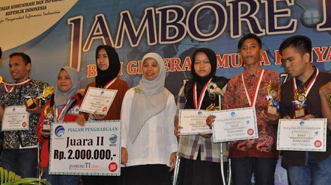 Tiga Provinsi Dominasi Kompetisi Jambore TI Penyandang Disabilitas Kota Padang