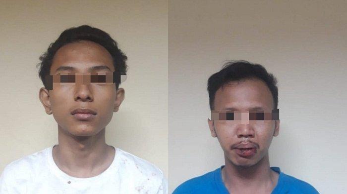 Dua pejambret yang ditangkap di Tambora