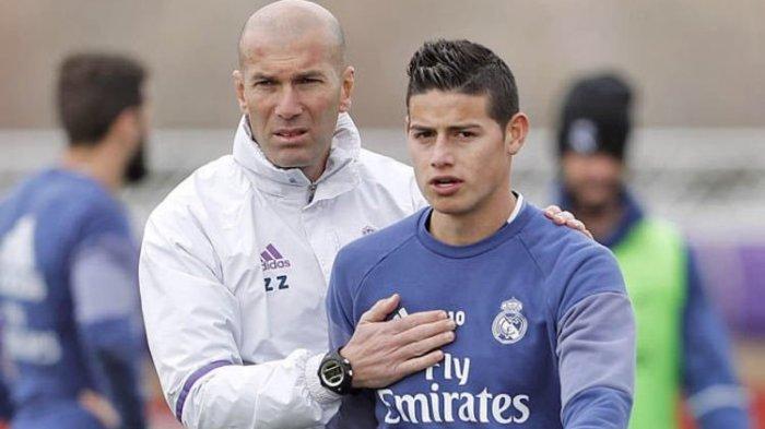 James Rodriguez Menuju Pintu Keluar Real Madrid, Juventus dan Man United Antri Terdepan