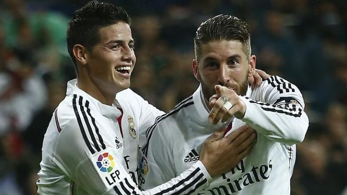 Rodriguez, Bale, dan Ramos Siap Diturunkan di Derbi Lawan Atletico Madrid