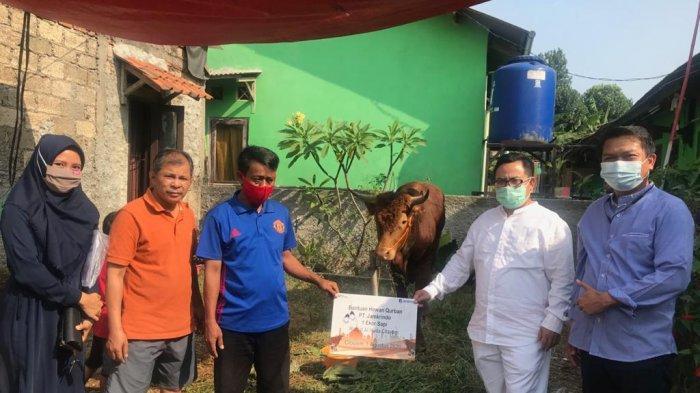 Jamkrindo Salurkan Hewan Kurban untuk Warga Terdampak Pandemi Covid-19