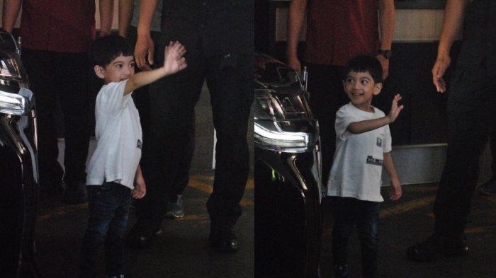 Jan Ethes Bertingkah Menggemaskan saat Diajak Pulang Presiden Jokowi, Pilih Terakhir Masuk Mobil