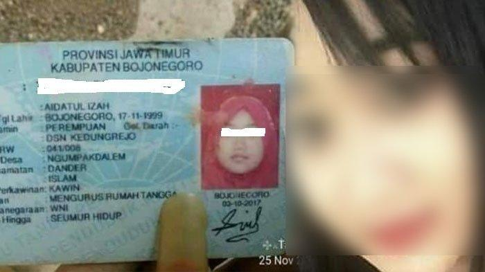 Janda muda korban pembunuhan di Bojonegoro