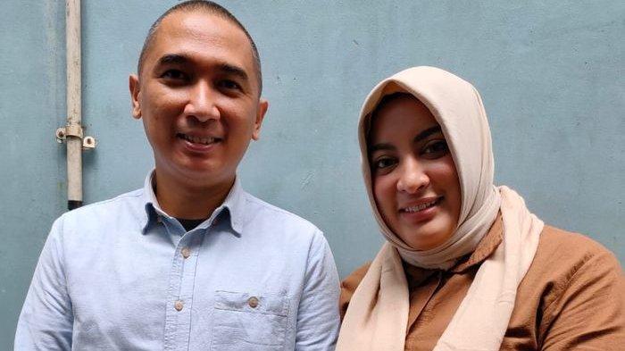 Jane Shalimar dan Arsya Wijaya di kawasan Tendean, Jakarta Selatan, Selasa (25/2/2020).